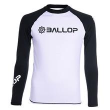 [50% off] BASIC WHITE [BALLOP] 밸롭래쉬가드, 래시가드, 남성래쉬가드, 자외선차단, 오드람프, 속건성