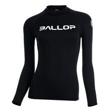 [50% off] BASIC BLACK [BALLOP] 밸롭래쉬가드, 래시가드, 여성래쉬가드, 자외선차단, 오드람프, 속건성, 예정화래쉬가드