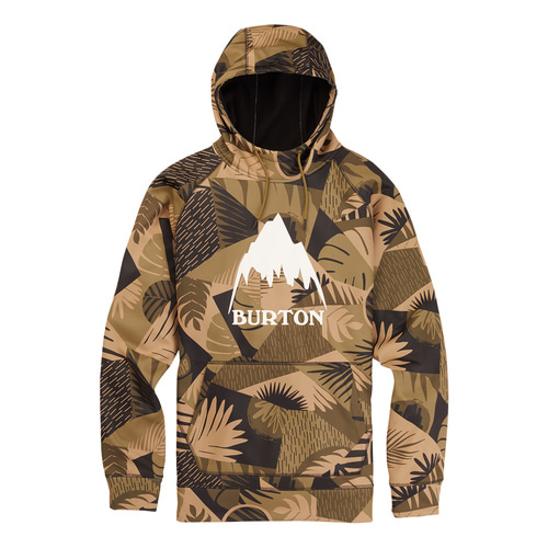 BURTON 크라운 본디드 후드 Martini Olive Woodcut Palm BTIM0002